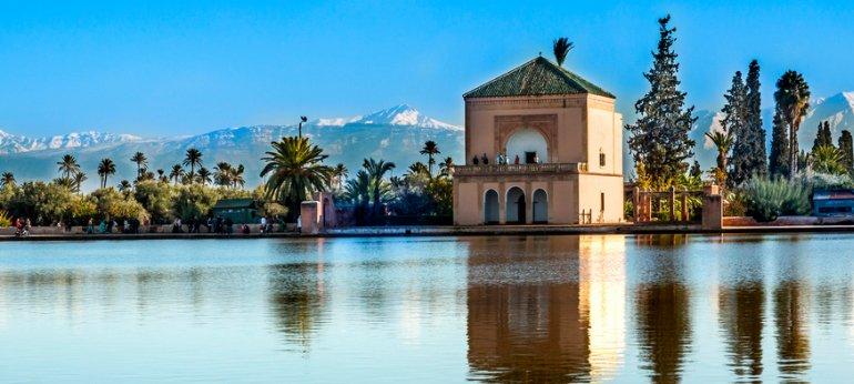La mosqu e de la koutoubia marrakech les jardins de la for Jardin koutoubia